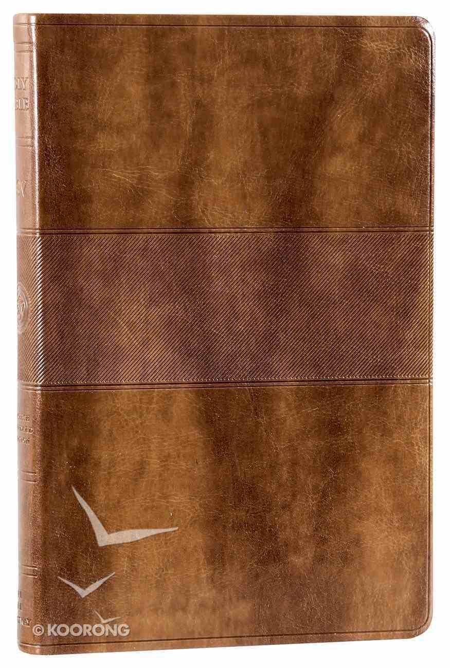 ESV Value Thinline Bible Trutone Chestnut Trail Design Imitation Leather