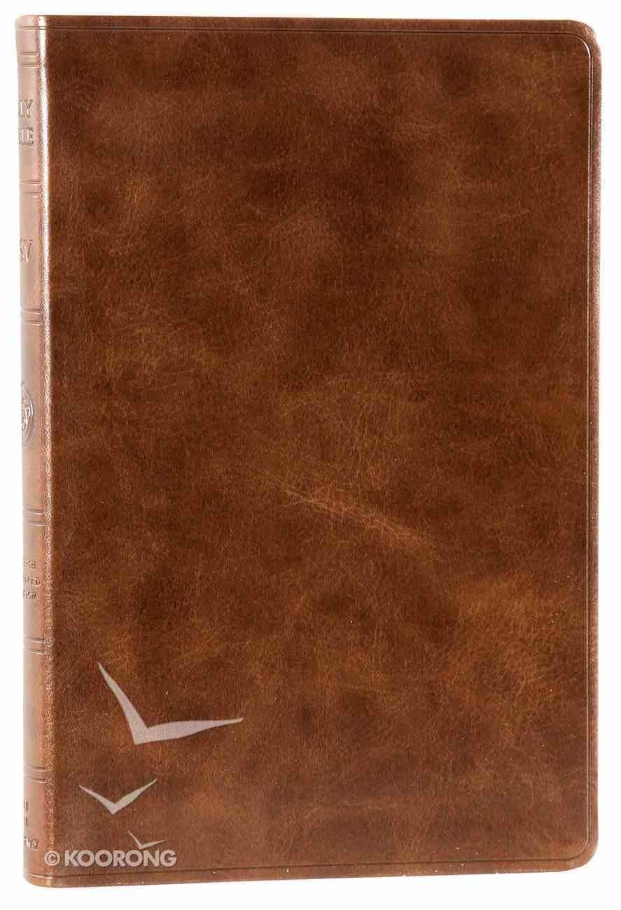 ESV Value Thinline Bible Trutone Deep Brown Imitation Leather