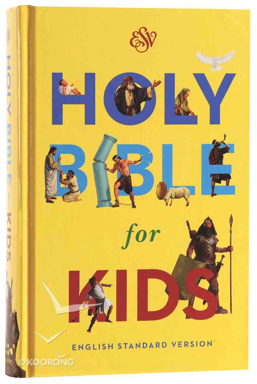 ESV Holy Bible For Kids (Black Letter Edition) Hardback
