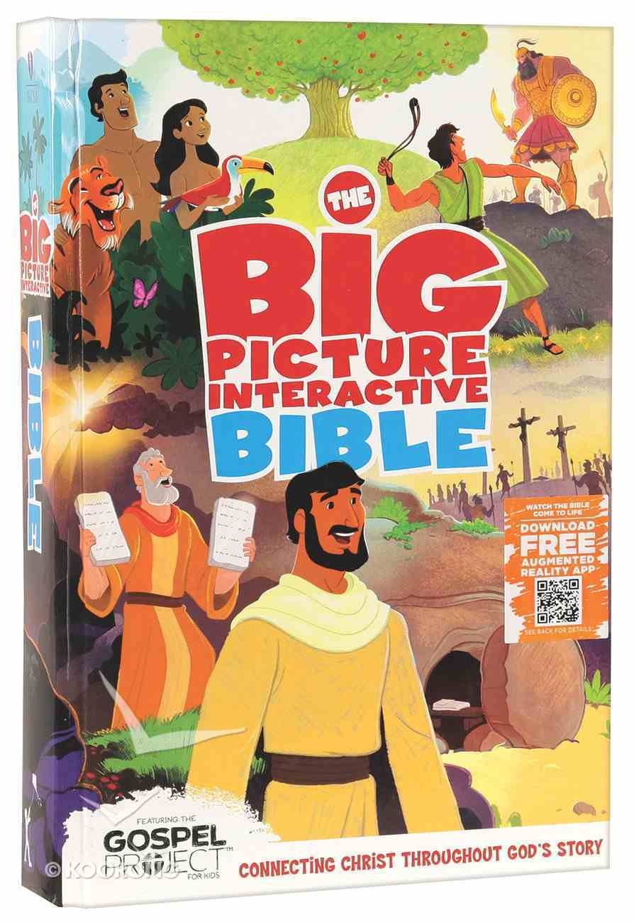 HCSB the Big Picture Interactive Bible For Kids Hardback