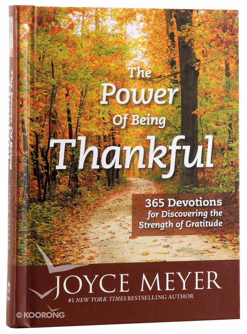 The Power of Being Thankful Hardback