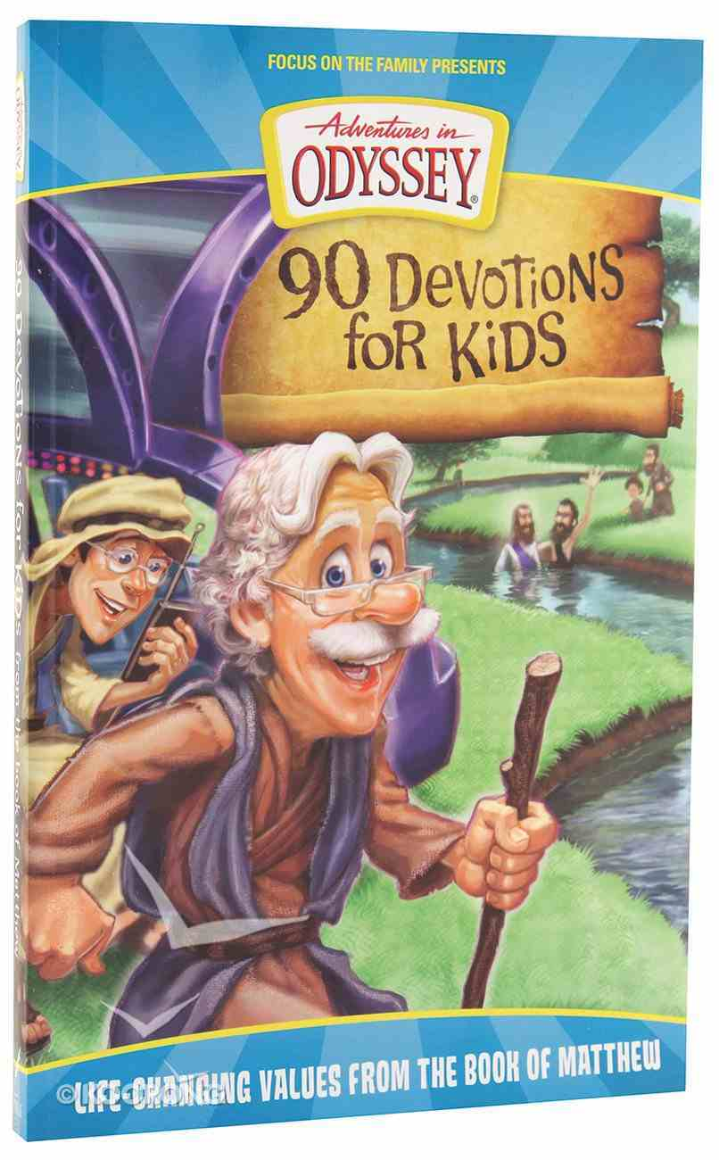Aio 90 Devotions For Kids in Matthew (Adventures In Odyssey Imagination Station (Aio) Series) Paperback