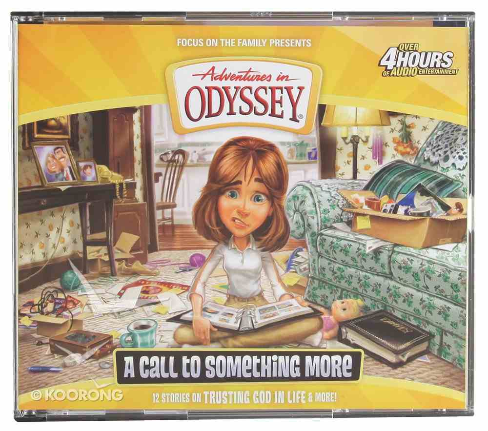 A Call to Something More (#57 in Adventures In Odyssey Audio Series) CD