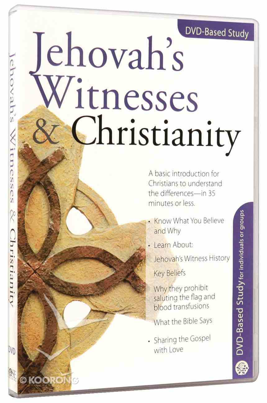Jehovah's Witnesses & Christianity (Dvd Based Study) DVD