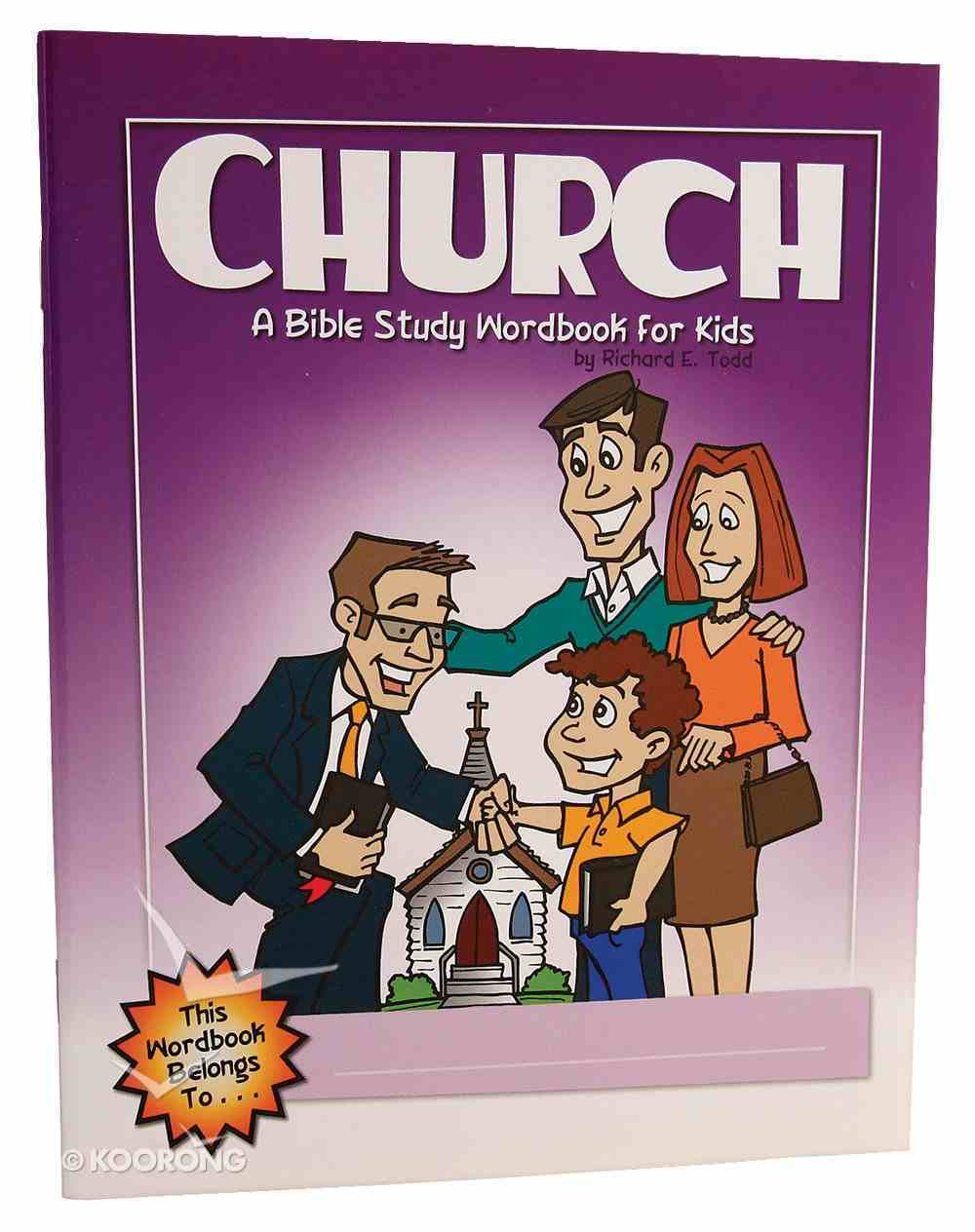 Church (Bible Workbook For Kids Series) Paperback