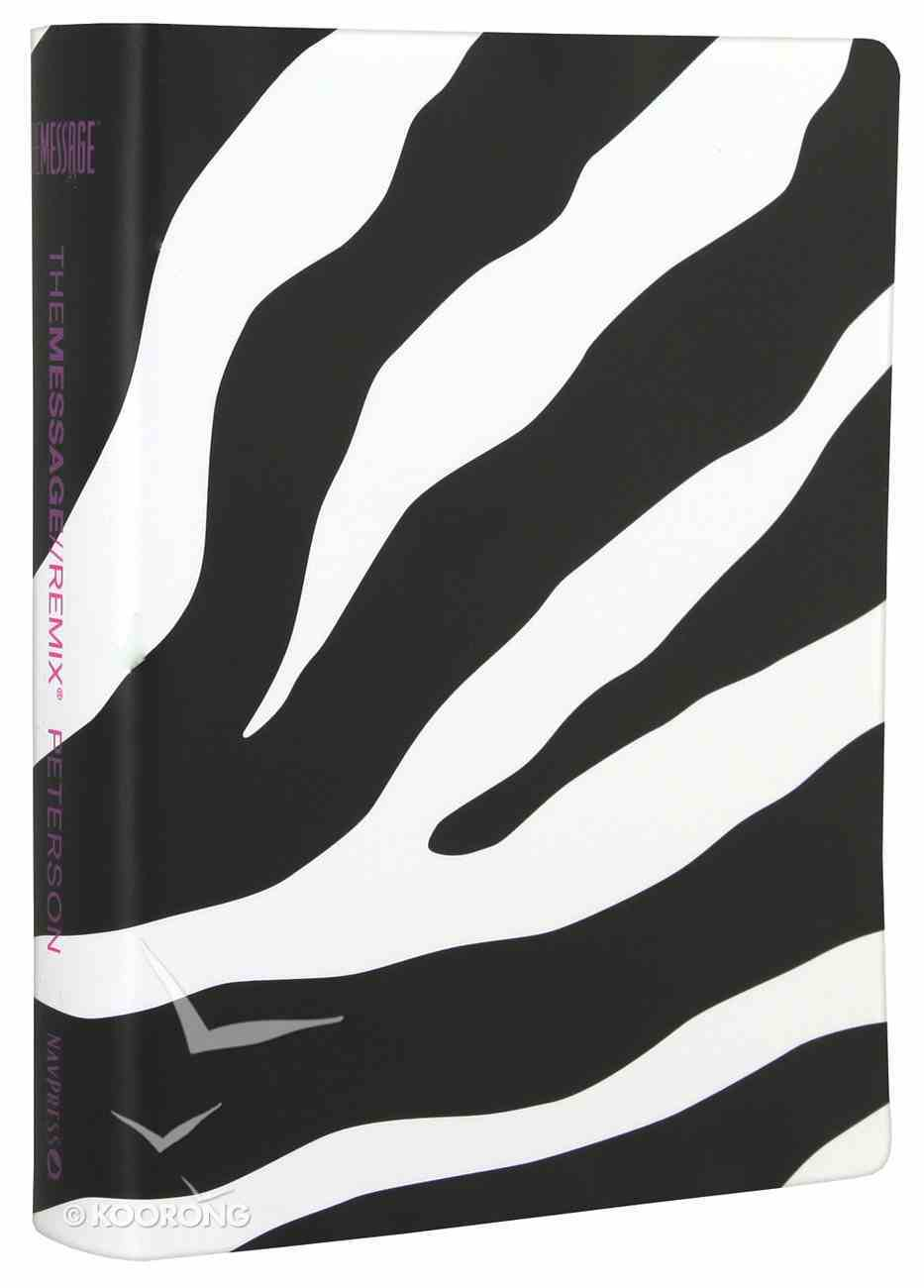 Message Remix 2.0 Zebra (Black Letter Edition) Imitation Leather