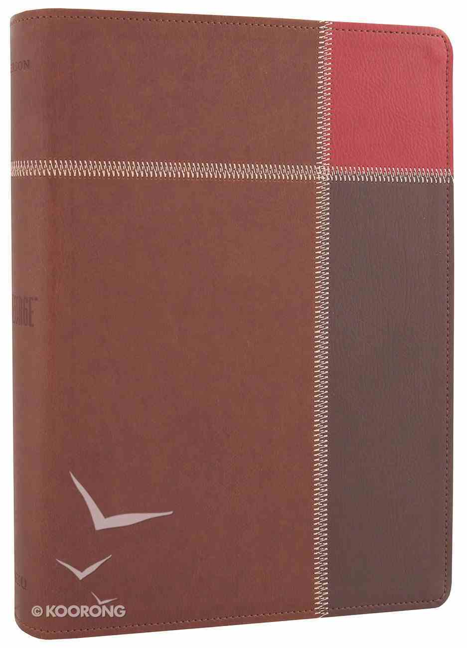 Message Large Print Brown Trio (Black Letter Edition) Imitation Leather