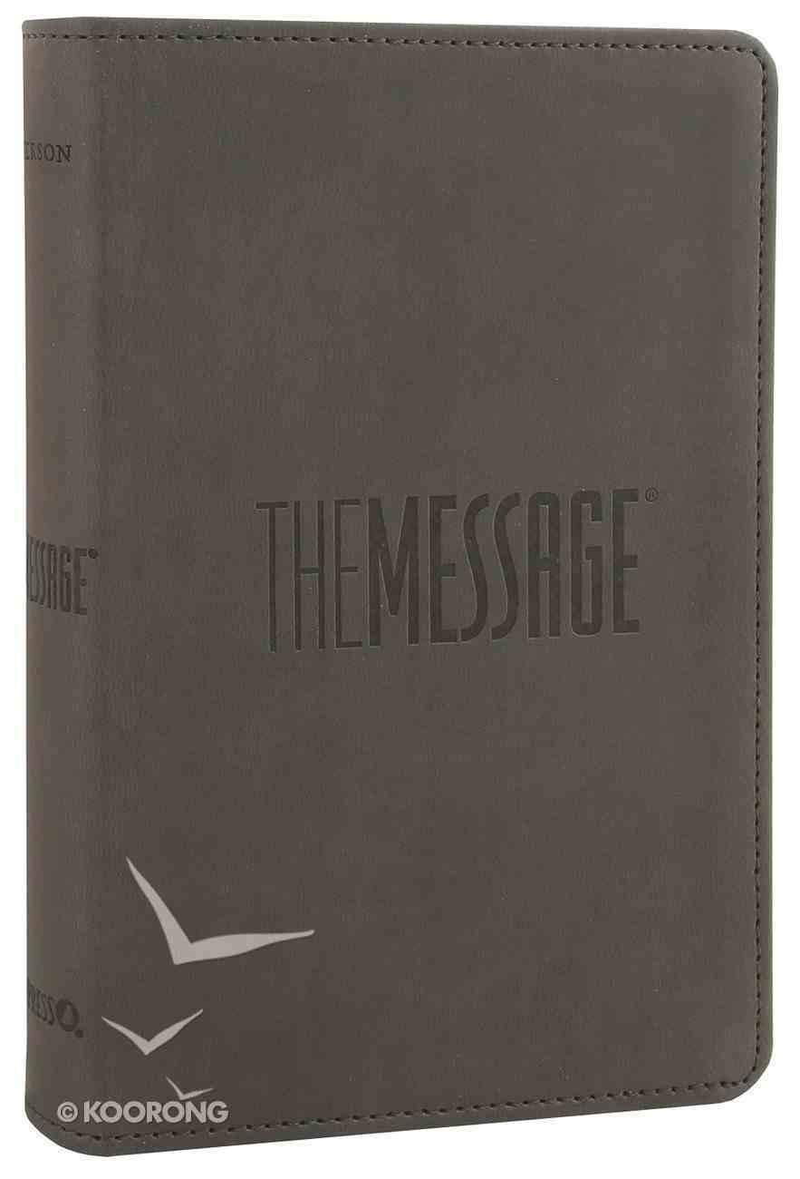 Message Compact Graphite (Black Letter Edition) Imitation Leather