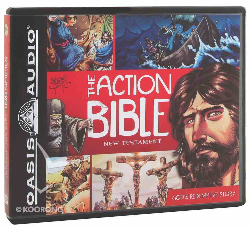 The Action Bible New Testament (Unabridged, 3cds) CD
