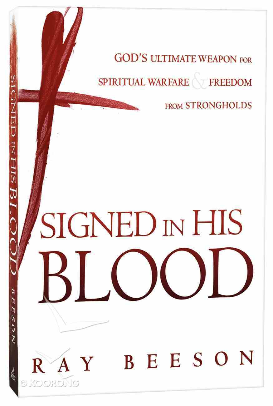 Signed in His Blood Paperback