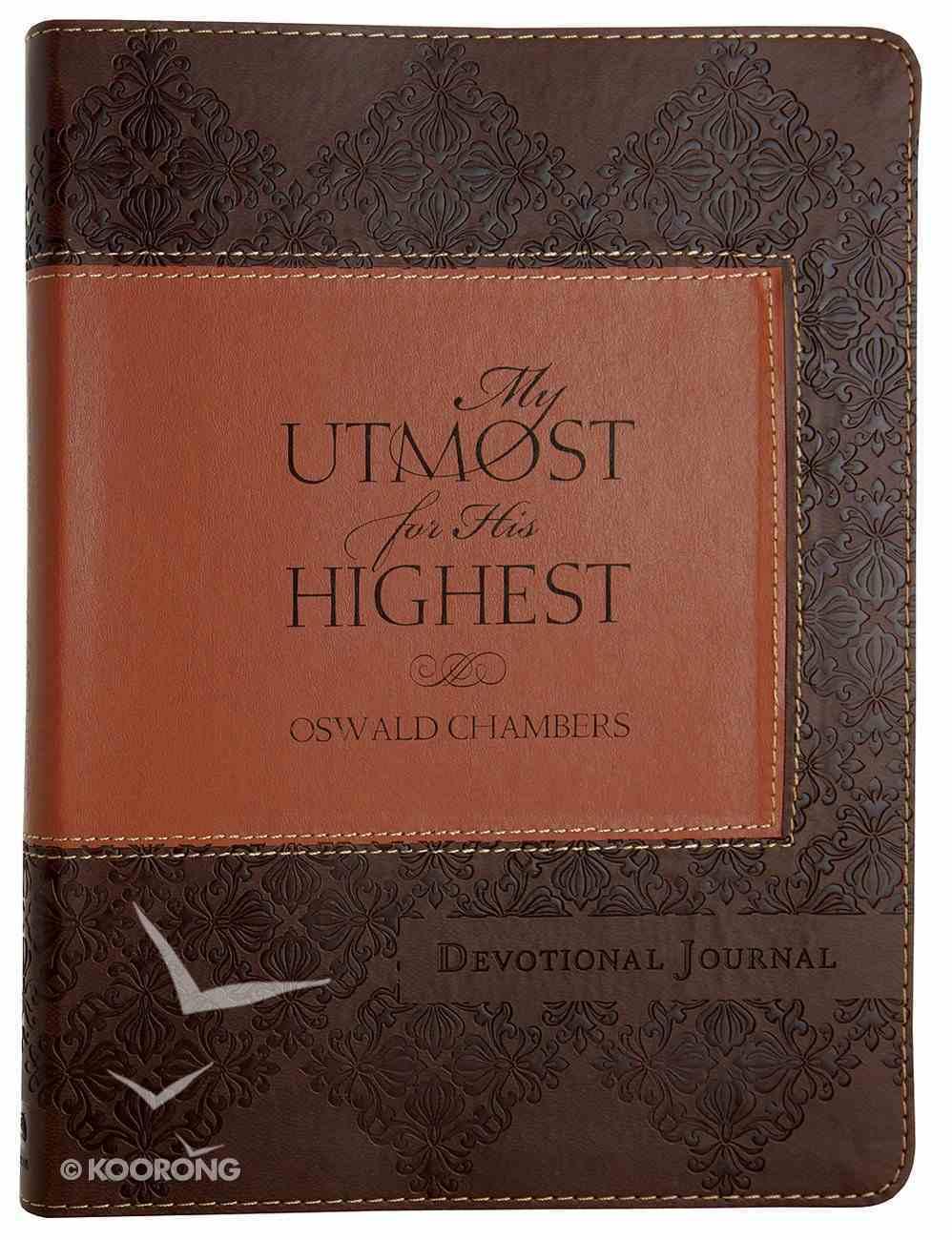 My Utmost For His Highest Devotional Journal Flexi Back