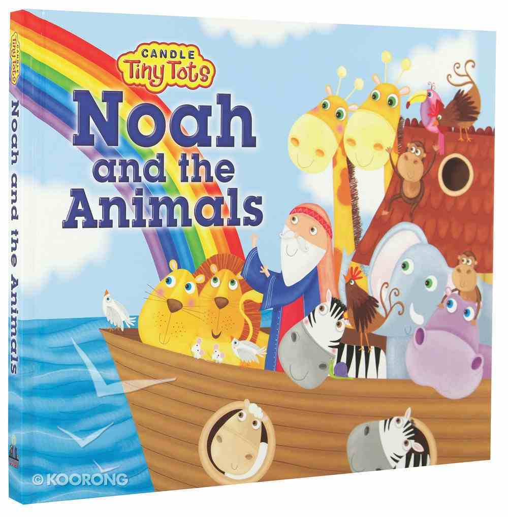Candle Tiny Tots: Noah and the Animals Board Book