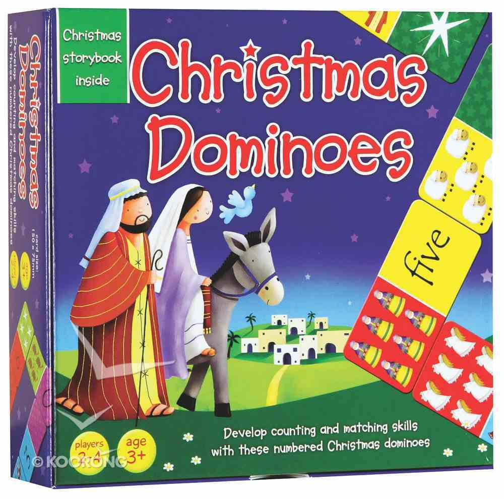 Christmas Dominoes & Story Booklet Box