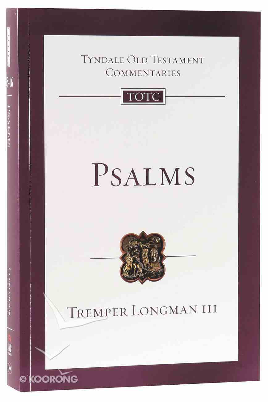 Psalms (Re-Formatted) (Tyndale Old Testament Commentary Re-issued/revised Series) Paperback