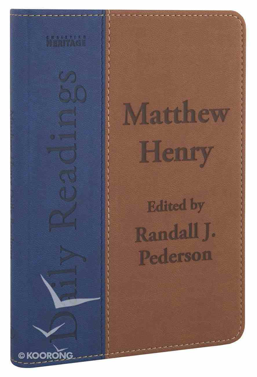 Matthew Henry Daily Readings Imitation Leather