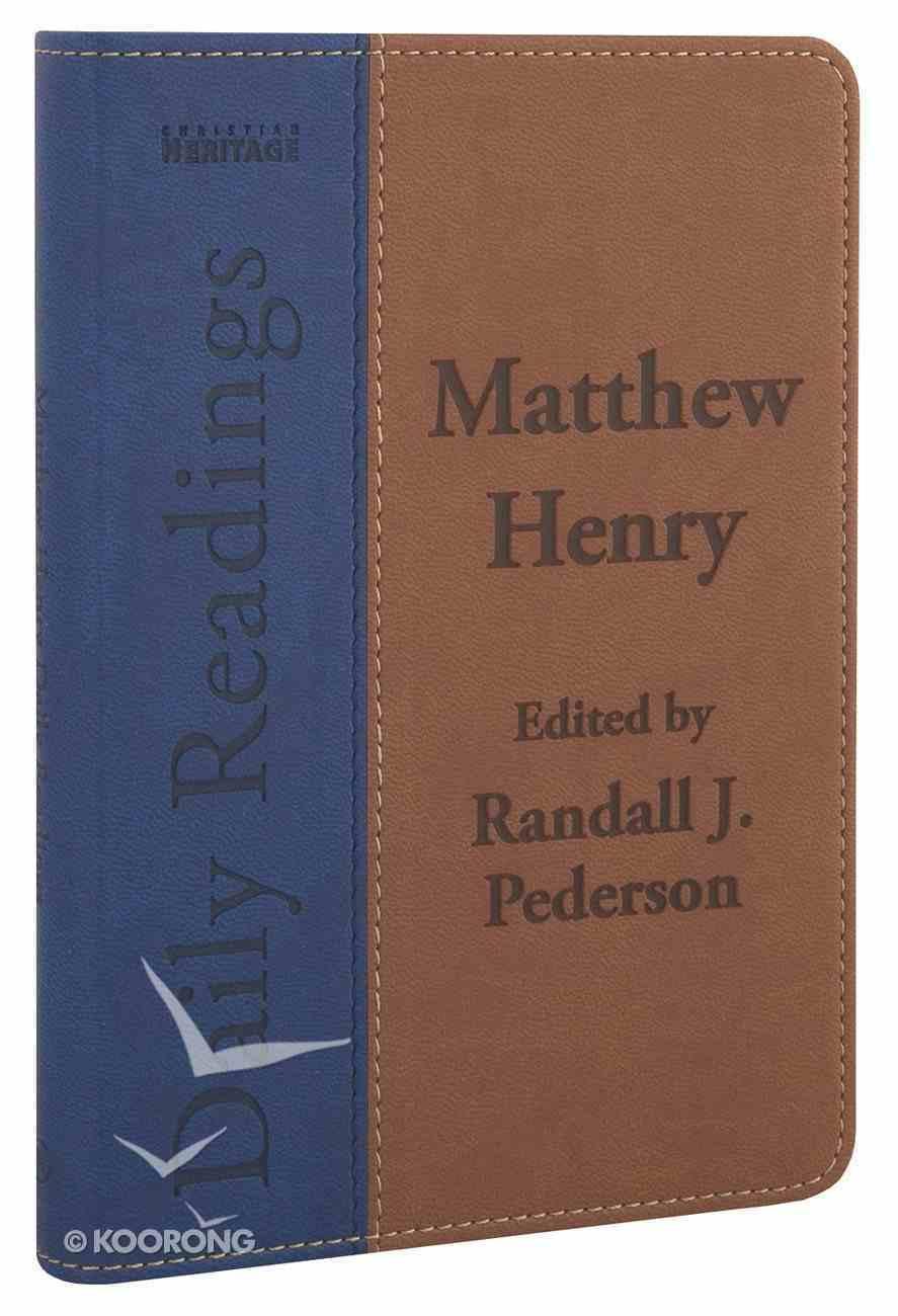 Matthew Henry Daily Readings Imitation Leather