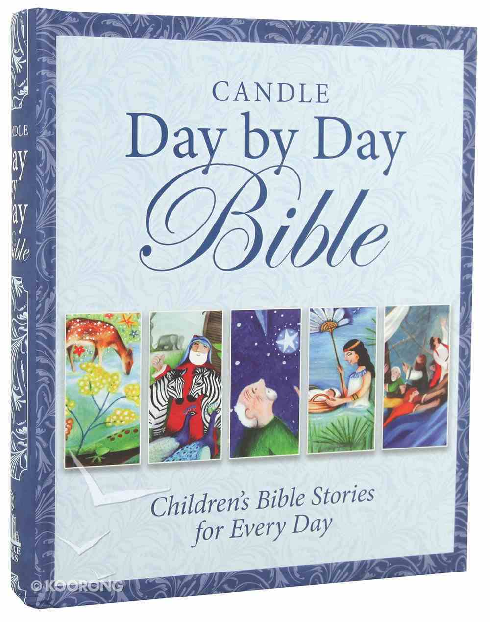 Candle Day By Day Bible Hardback