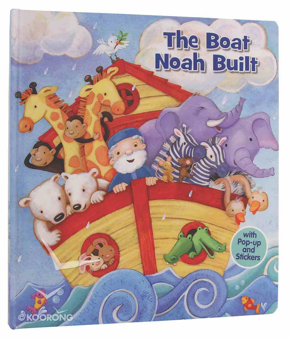 The Boat Noah Built (Pop Up) Hardback