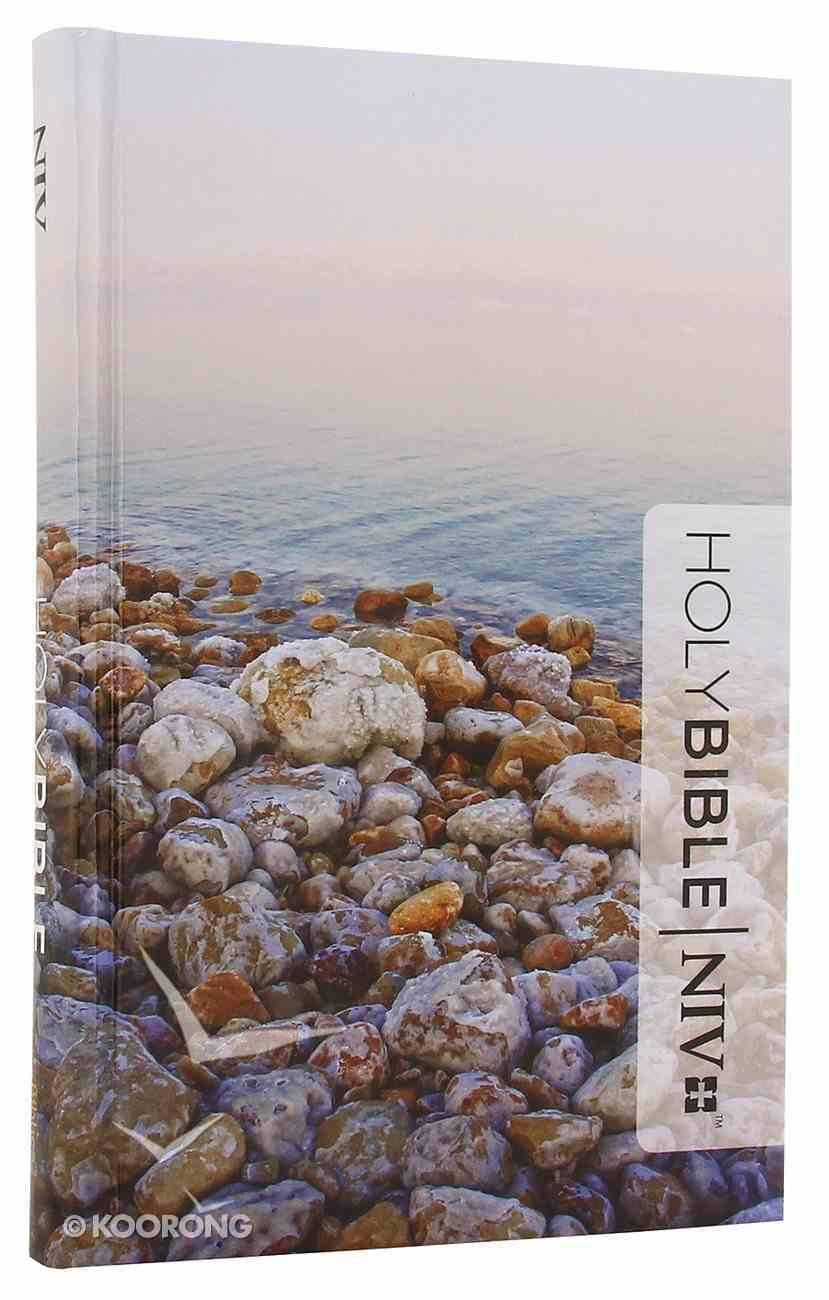 NIV Popular Compact Bible Dead Sea Stones Hardback