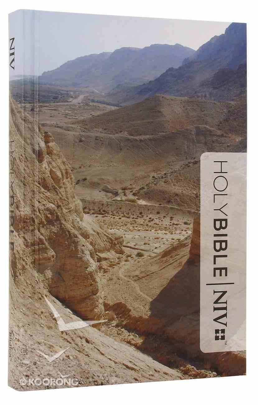 NIV Popular Compact Bible Dead Sea Canyon Hardback