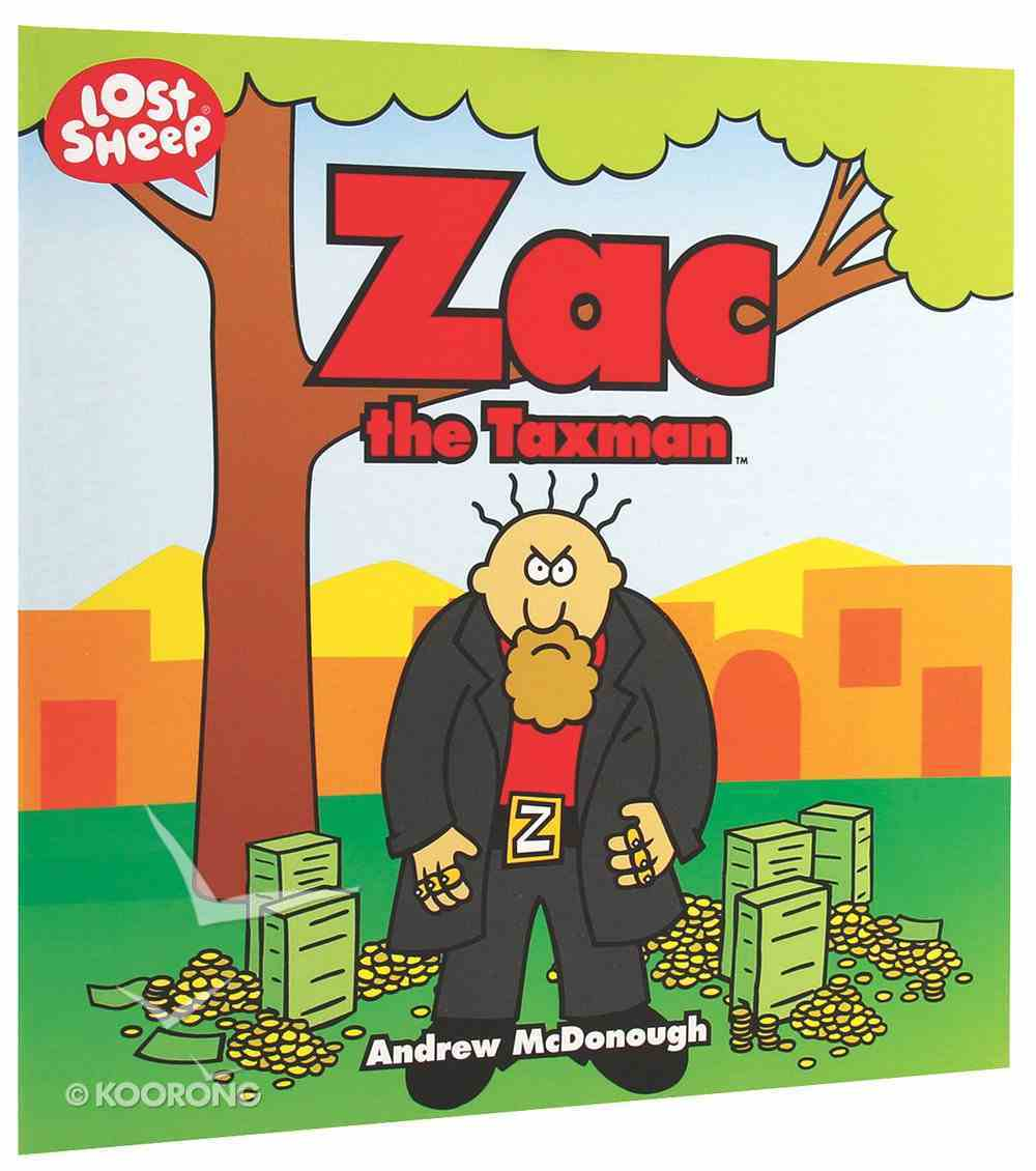 Zac, the Taxman (Lost Sheep Series) Paperback