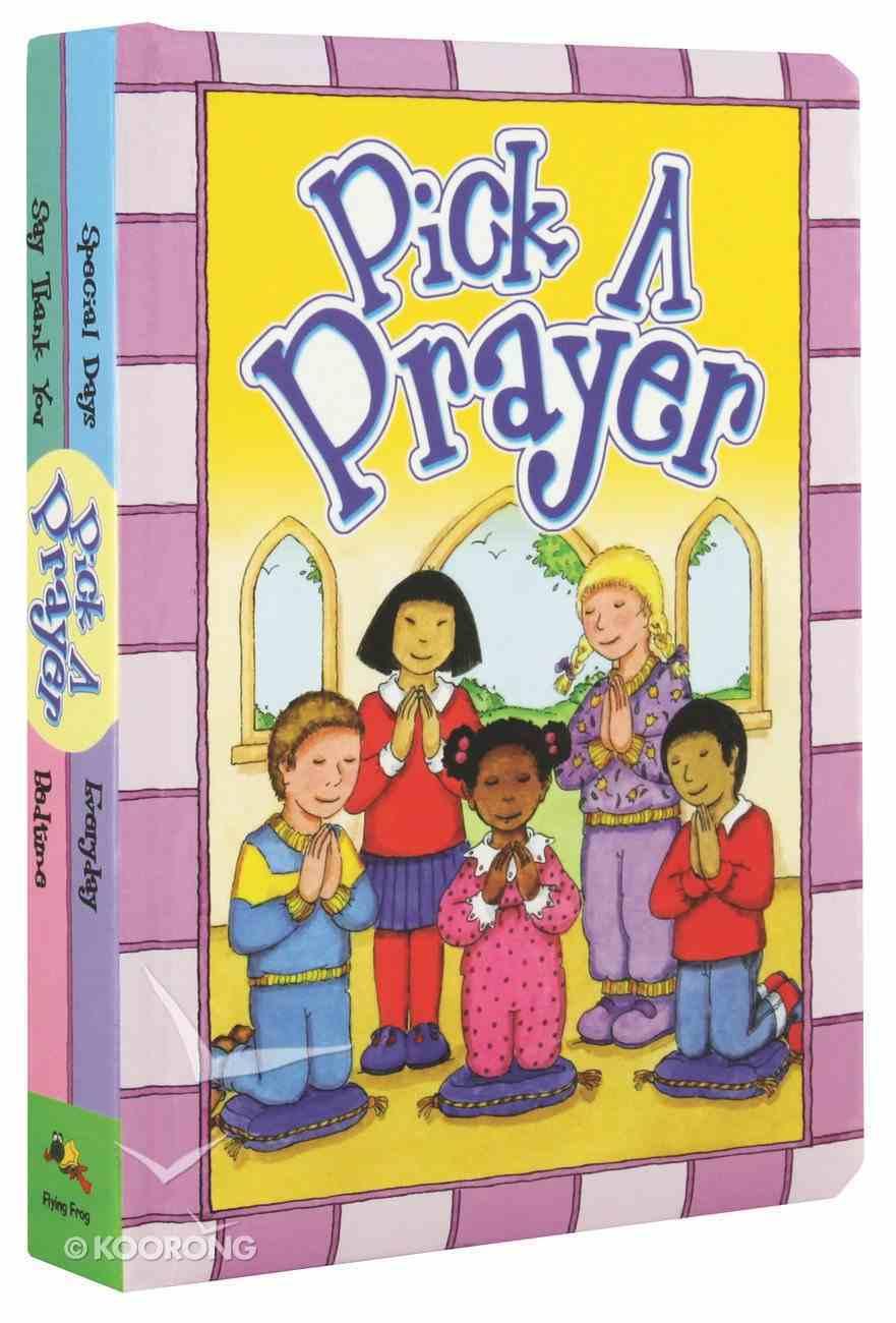 Pick a Prayer Hardback
