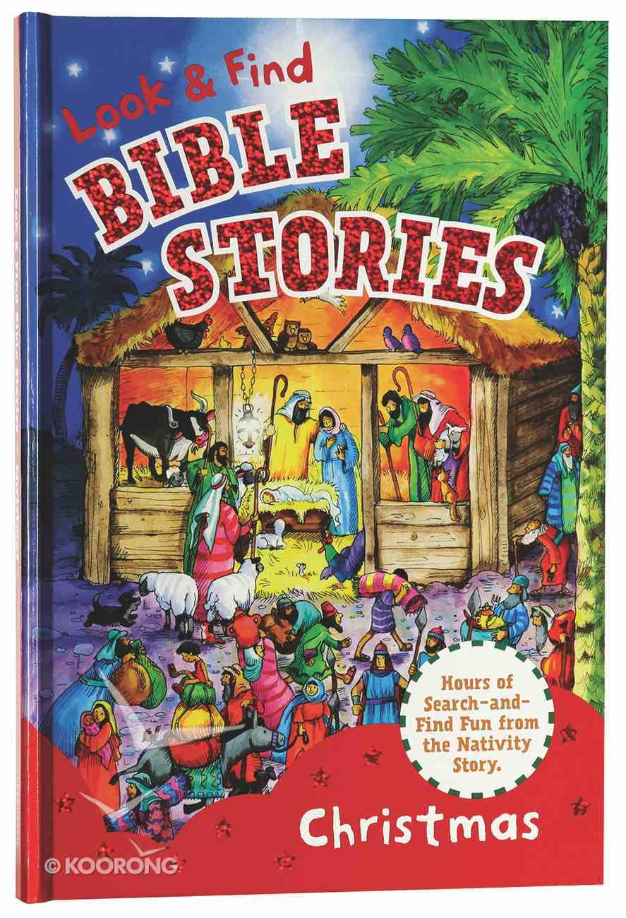 Look & Find Bible Stories: Christmas Board Book