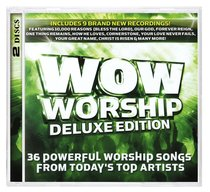 Album Image for Wow Worship Lime Deluxe Double CD - DISC 1