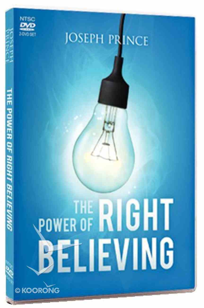 The Power of Right Believing (2 Dvds) DVD