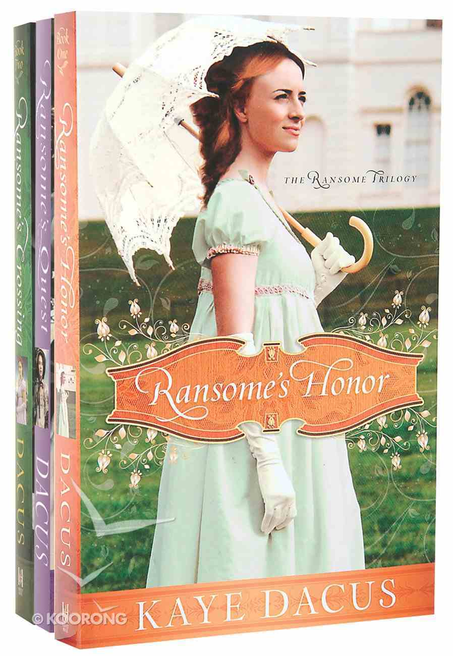 Ransome Pack (Ransome's Honor; Ransome's Crossing; Ransome's Quest) Pack