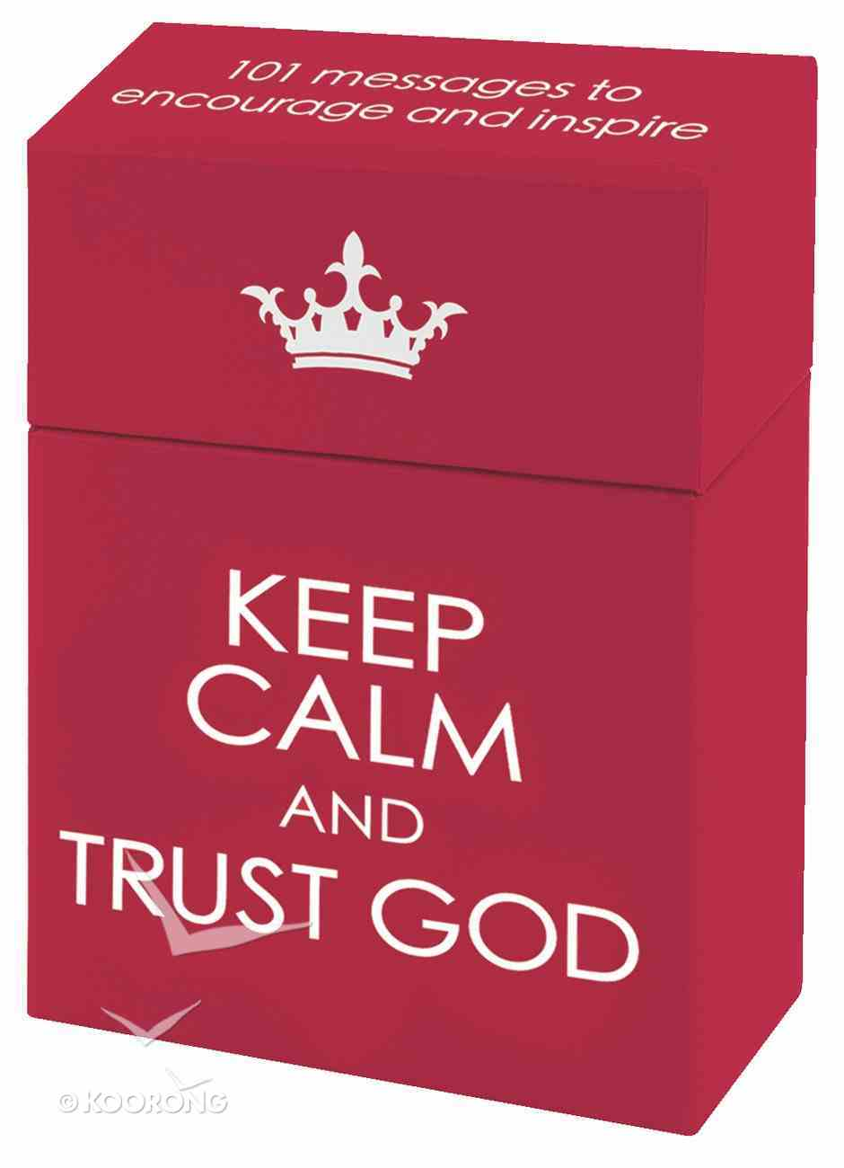 Box of Blessings: Keep Calm and Trust God Box