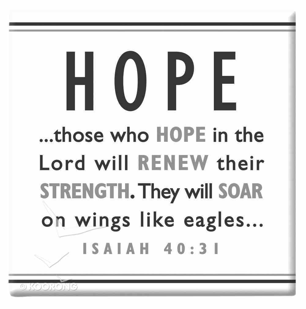 Black and White Series Magnet: Hope Novelty