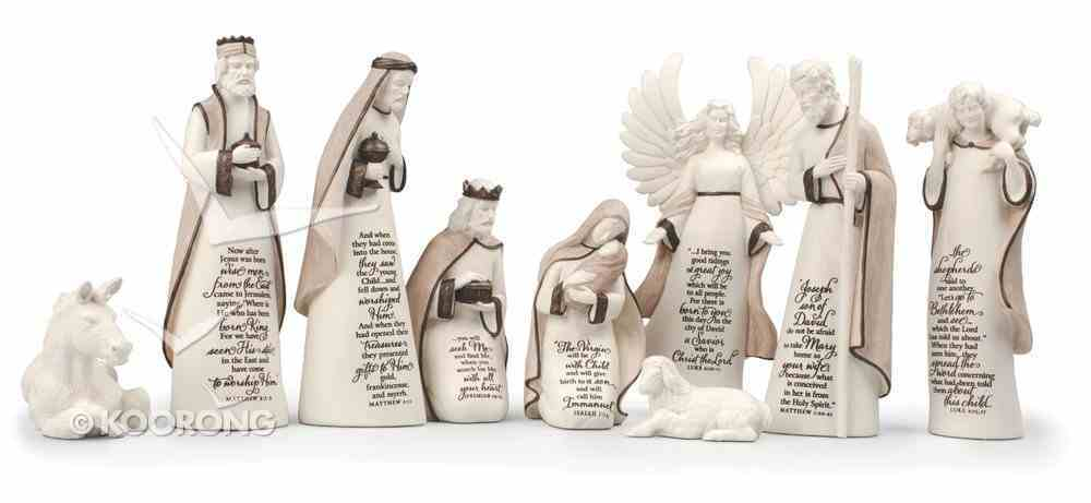 Nativity Set: A Child is Born Homeware