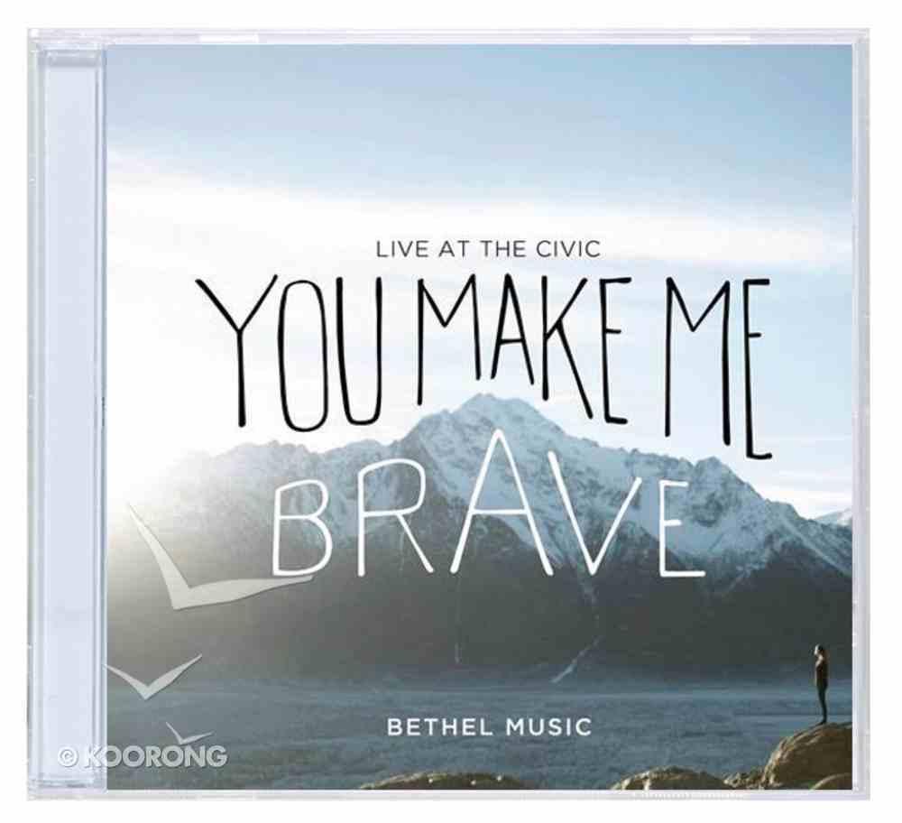 You Make Me Brave CD & DVD CD