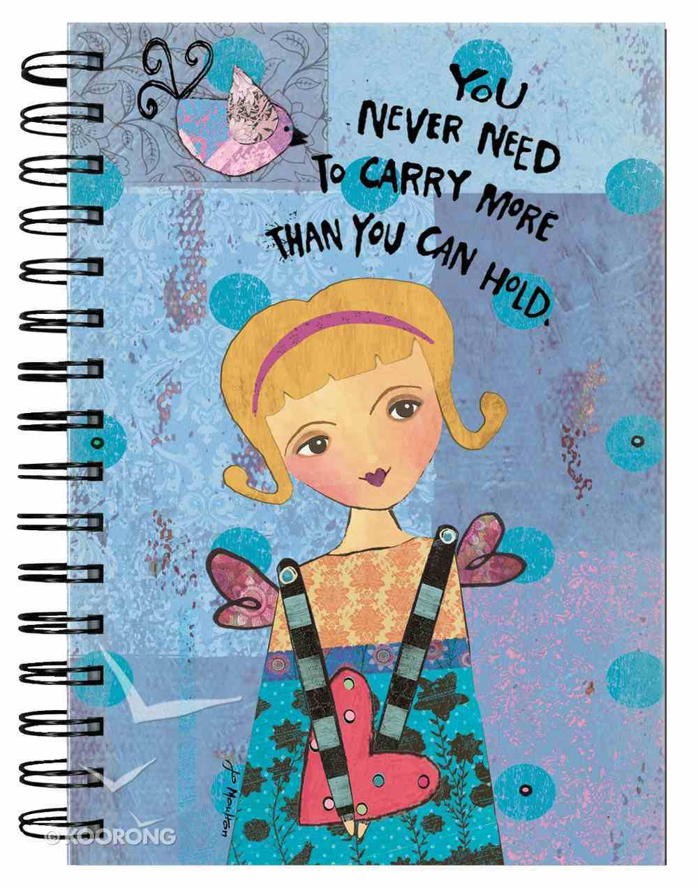 Spiral Journal: Guardian Angel 'You Never Need to Carry More Than You Can Hold' Spiral