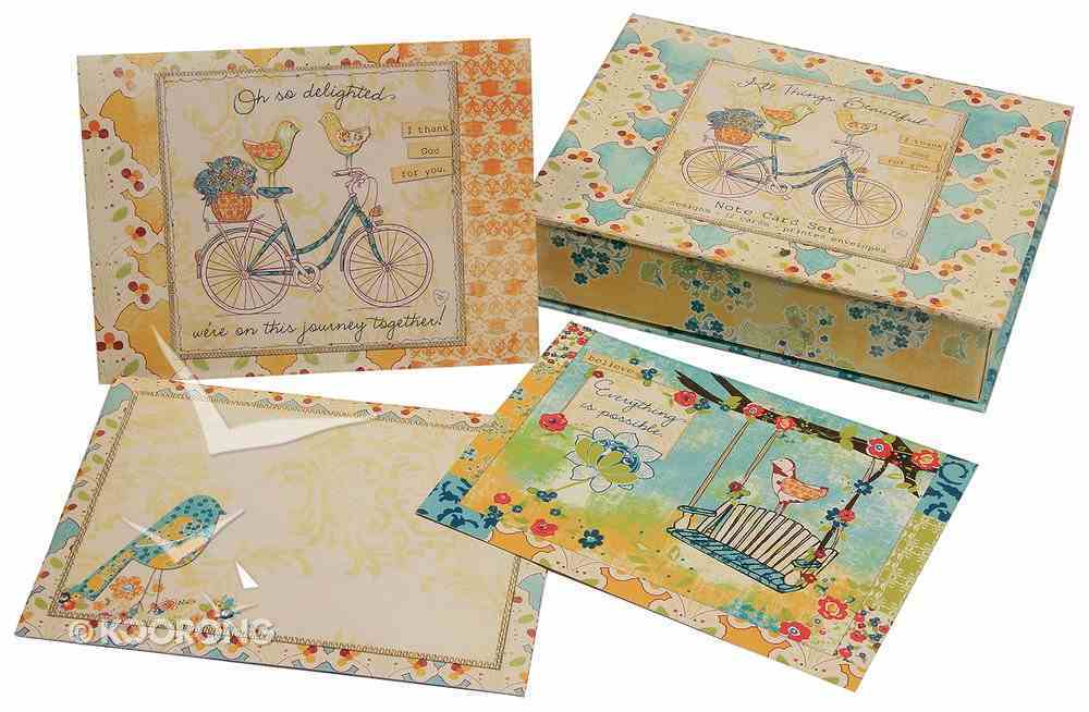 All Things Beautiful: Everyday Boxed Notes - Oh So Delighted... Box