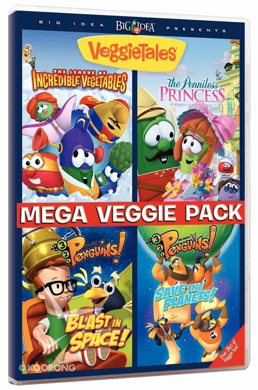 Mega Veggie Pack 2014 DVD