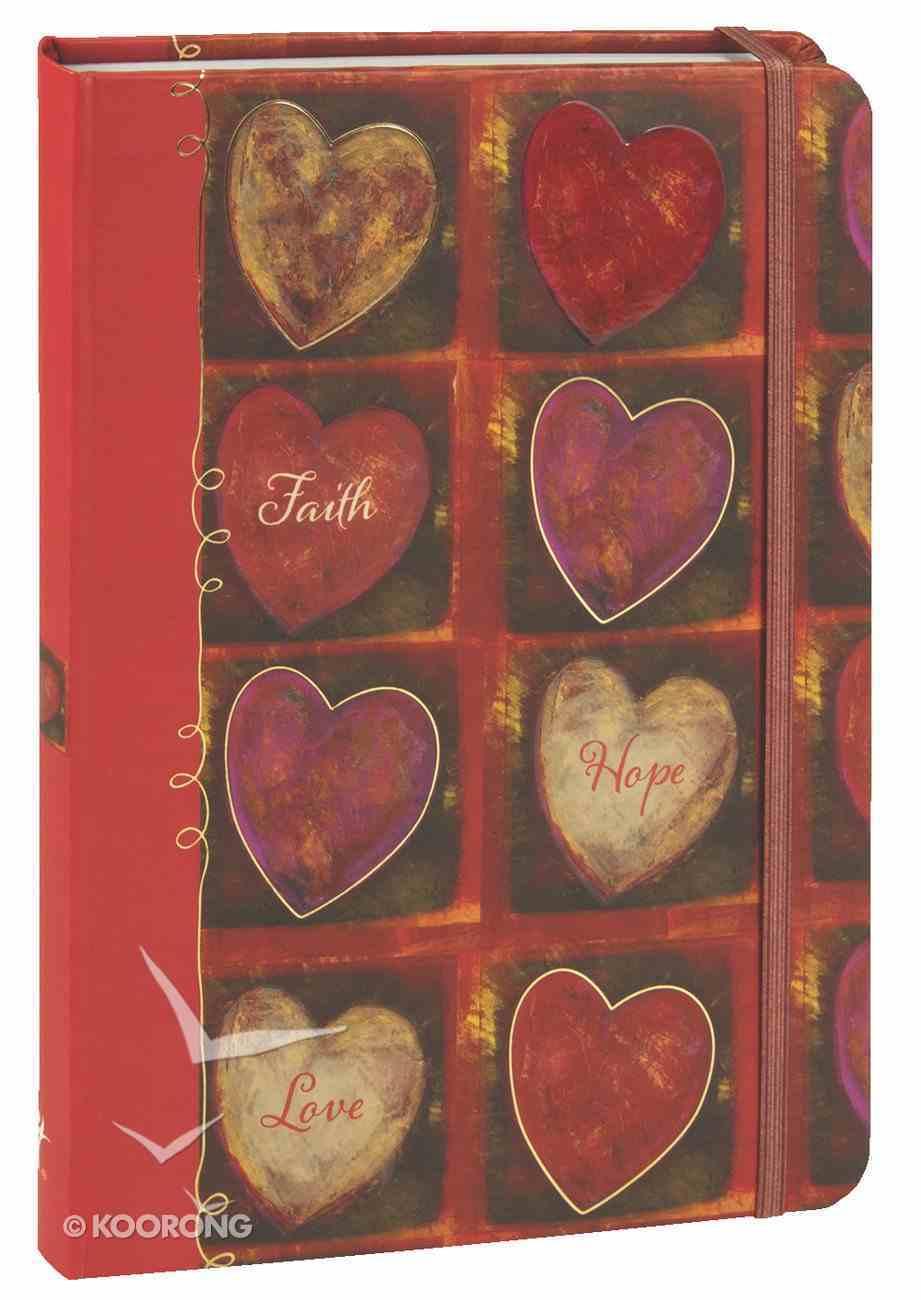 Journal: Faith, Hope, Love (Medium) Hardback