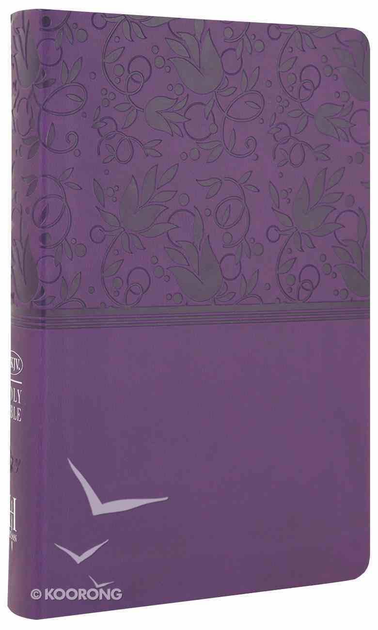 NKJV Ultrathin Reference Bible Purple Premium Imitation Leather