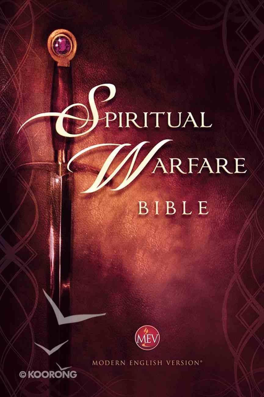 The MEV Spiritual Warfare Bible Hardback