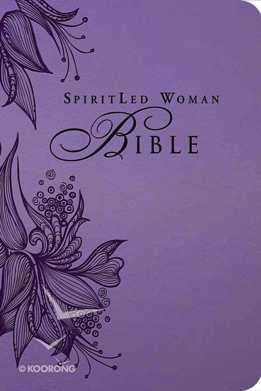 MEV Spiritled Woman Bible Lavender Premium Imitation Leather