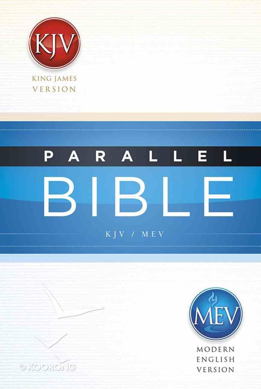 Mev/Kjv Parallel Bible Hardback