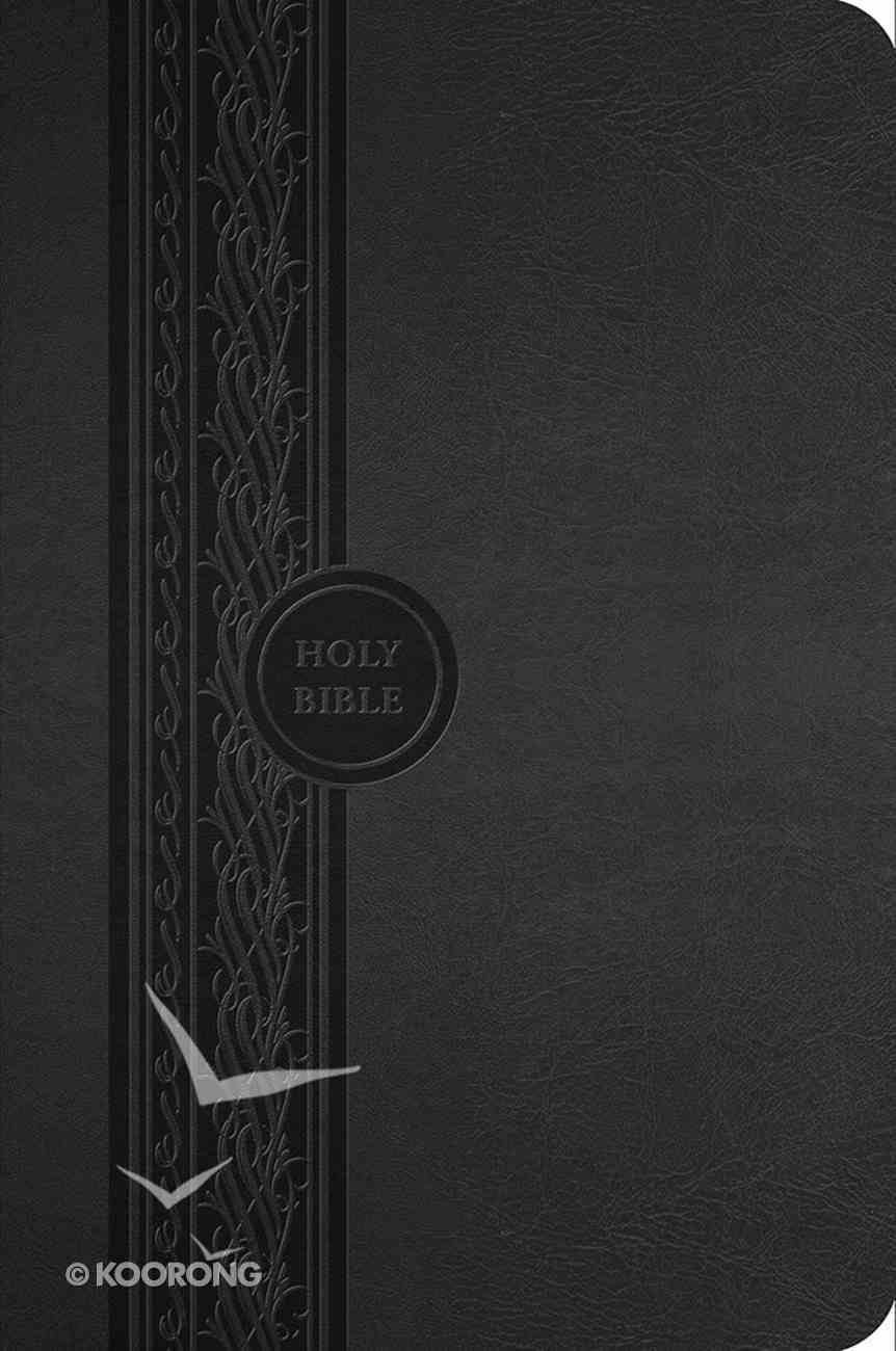 MEV Thinline Reference Bible Black Imitation Leather