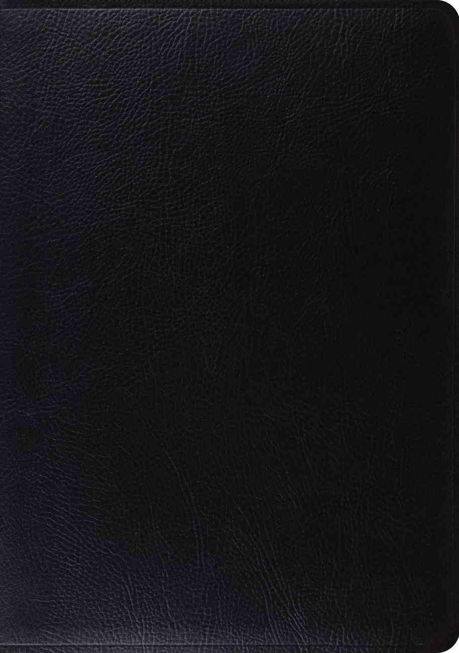 ESV Study Bible Black (Black Letter Edition) Bonded Leather