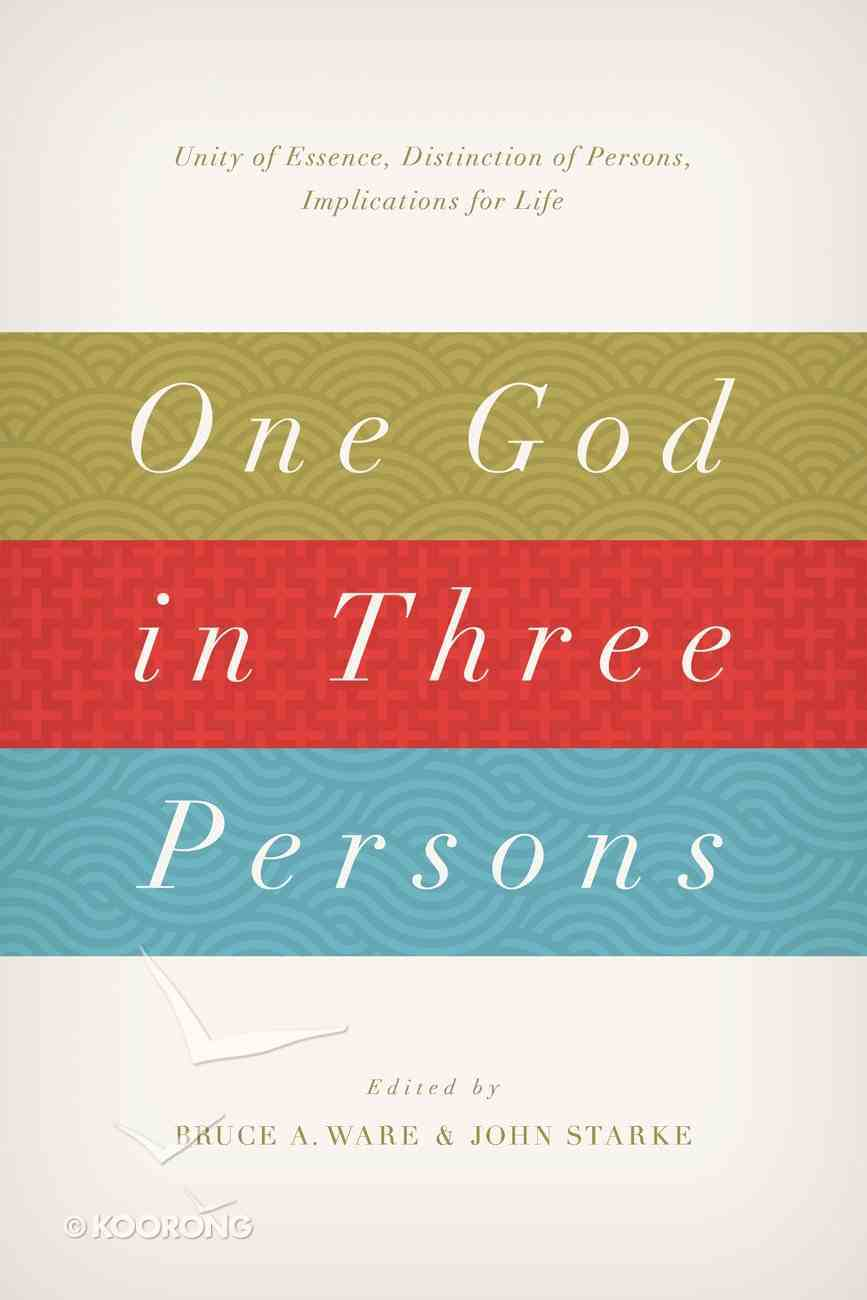 One God in Three Persons Paperback