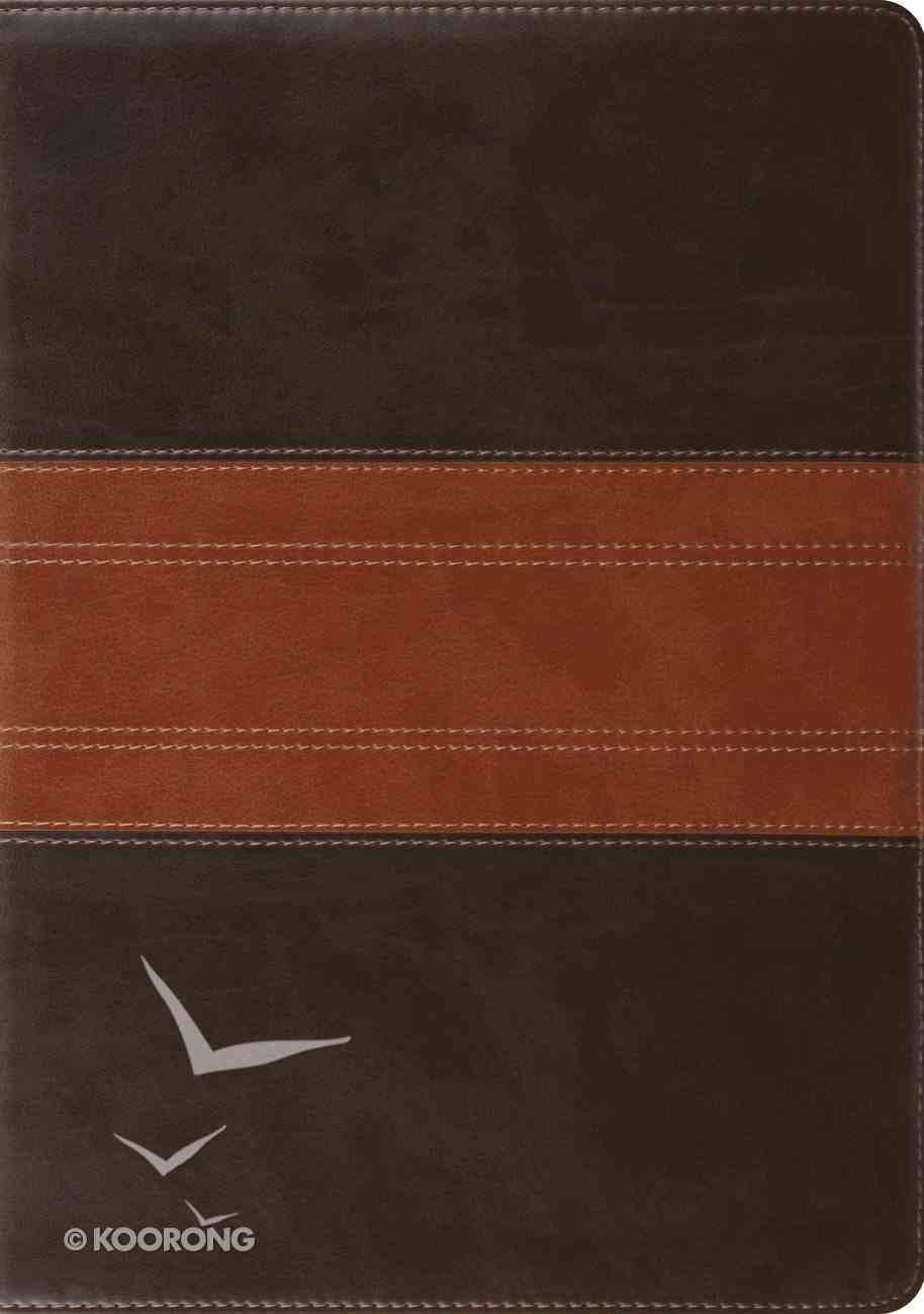 ESV Study Bible Trutone Forest/Tan Trail Design (Black Letter Edition) Imitation Leather