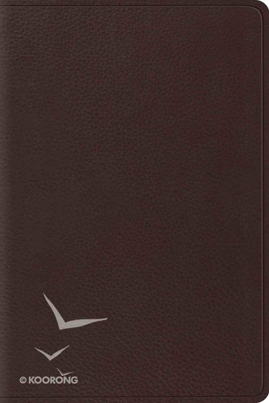 ESV Personal Reference Bible Brown Genuine Leather