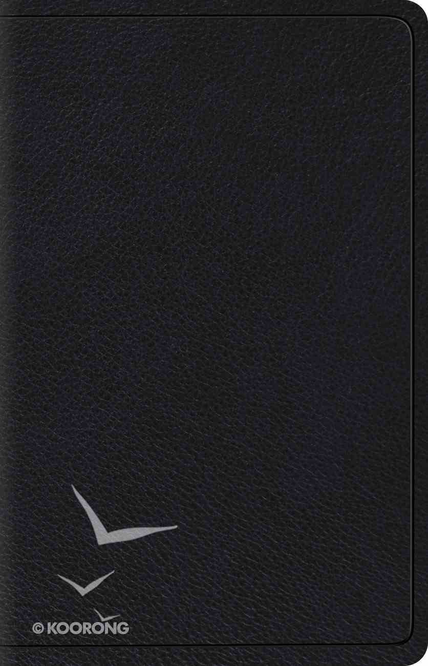 ESV Wide Margin Reference Bible Black (Red Letter Edition) Genuine Leather