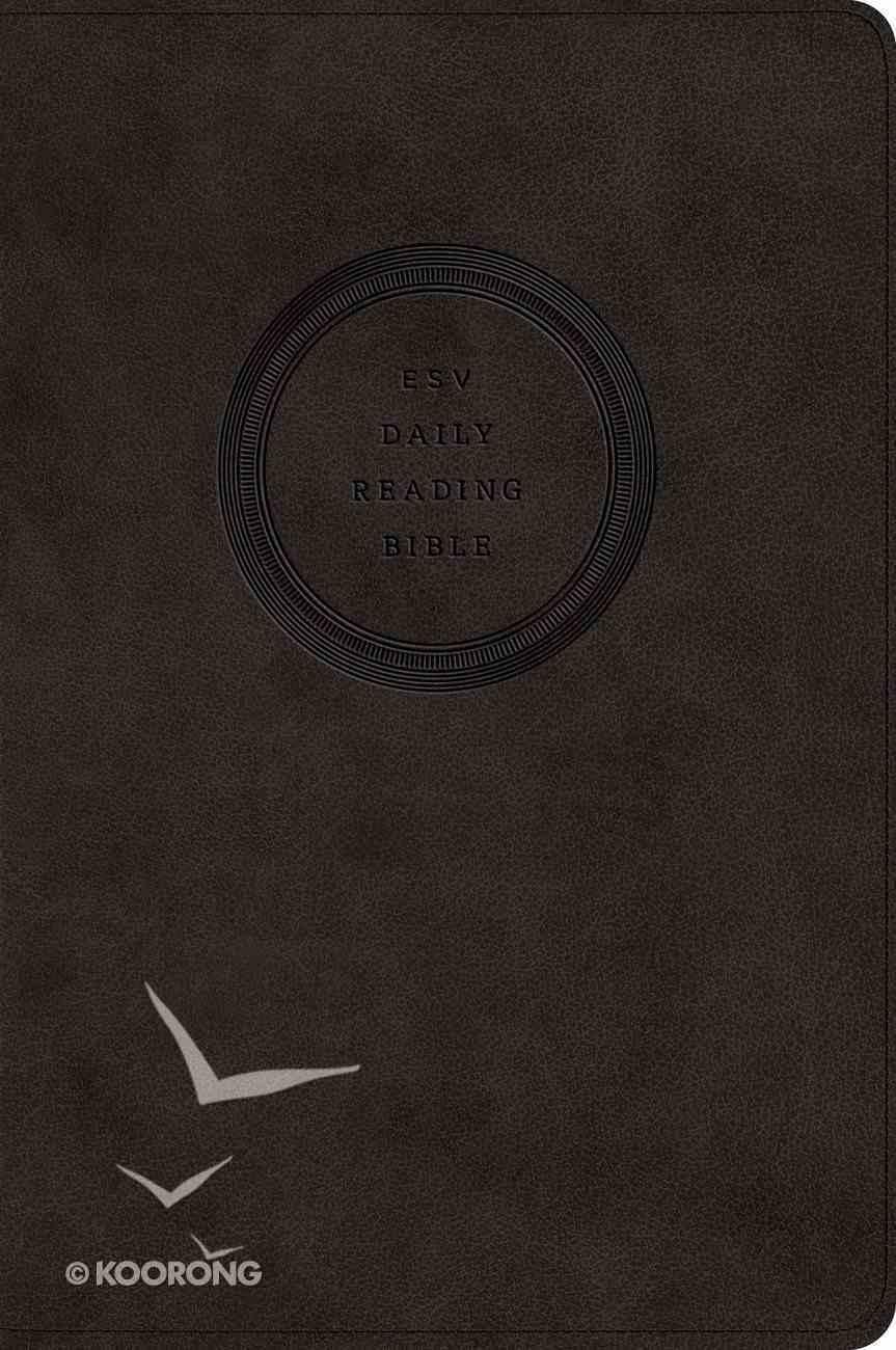 ESV Daily Reading Bible Trutone Black Imitation Leather