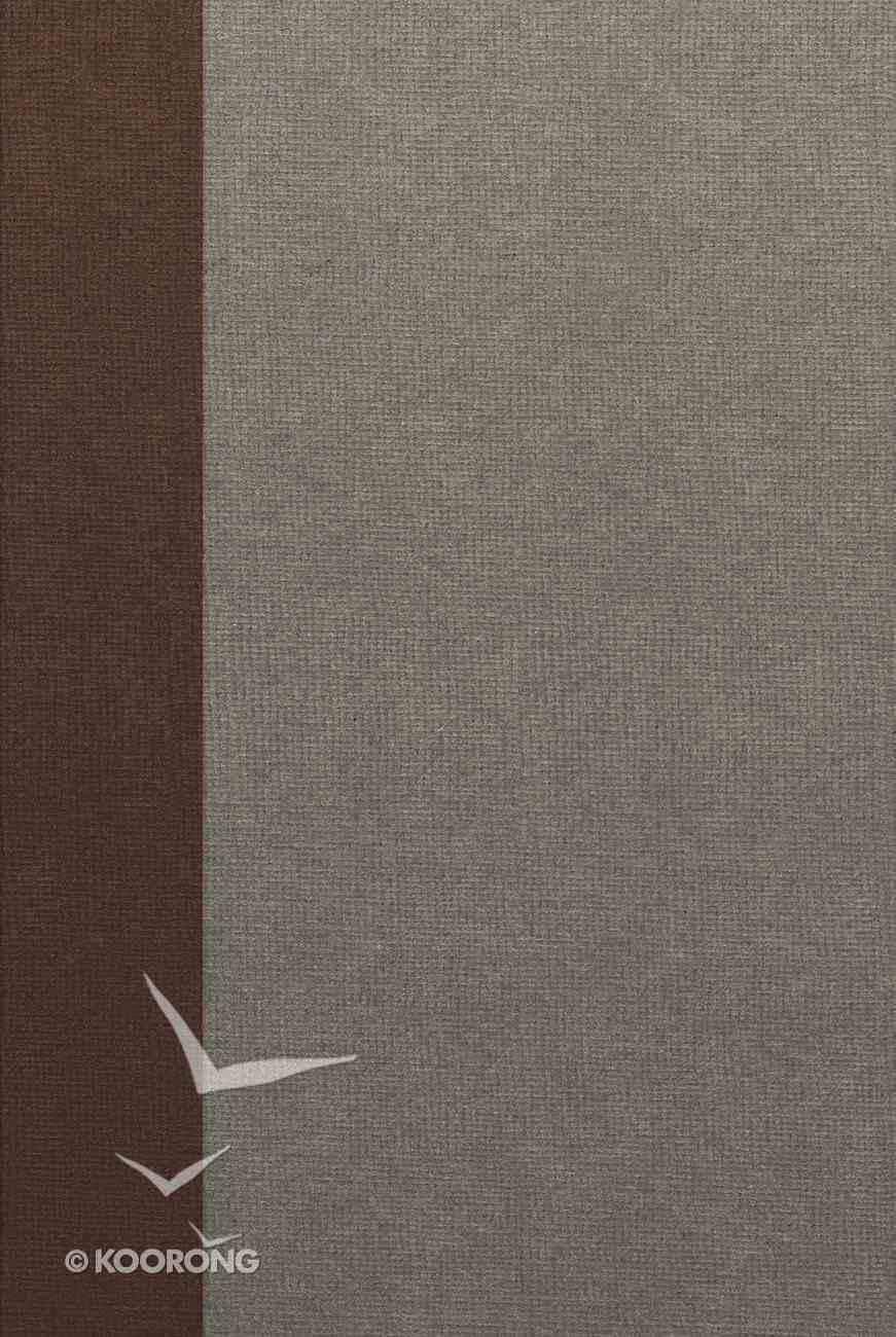 ESV Single Column Heritage Bible Fabric Over Hardback
